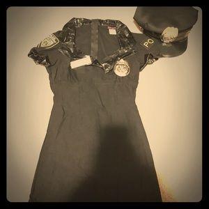 Cop costume, women's
